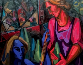 Artist Seymour Franks 1916-1981.