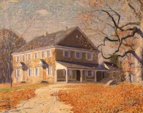 Artist Daniel Garber 1880-1958.
