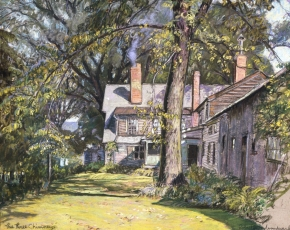Artist Robert Strong Woodward 1885-1957.