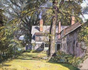 Artist Robert Strong Woodward 1885-1957.