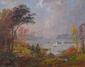Artist Jasper Cropsey 1823-1900.