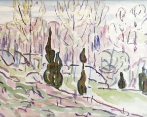 Artist Allen Tucker 1866-1939.