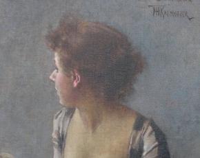 Artist Frederik Kaemmerer 1839-1902.