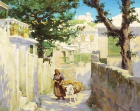 Artist Norman I. Black.