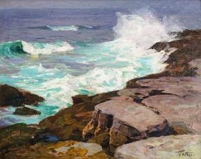 Artist Edward Henry Potthast 1857-1927.