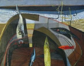 Artist Virginia Banks 1920-1985.