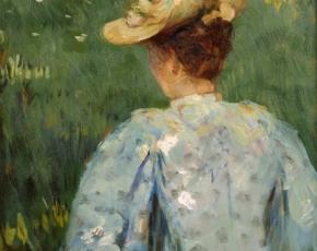 Artist James Carroll Beckwith 1852-1917.