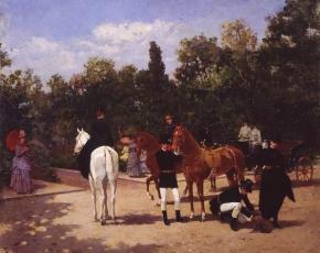 Artist Francisco Miralles 1848-1901.