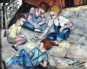 Artist Eugenie Schein 1905-2003.