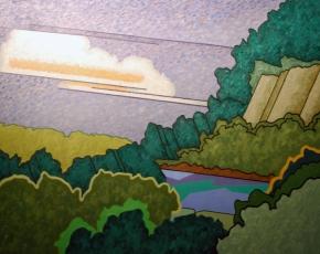Artist Easton Pribble 1917-2003.