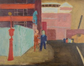 Browse through and inquire about social realist and WPA artworks for sale at Caldwell Gallery Hudson.