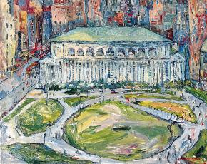 Artist John Wenger 1888-1976.