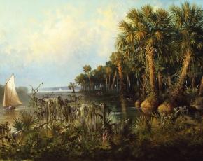 Artist Charles Eisele 1854-1919.