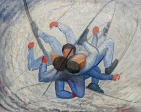 Artist Will Shuster 1893-1969.