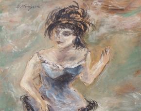 Artist Yasuo Kuniyoshi 1889-1953.