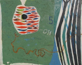 Artist Emory Ladanyi 1902-1986.