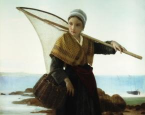 Artist William A. Bougereau 1825-1905.