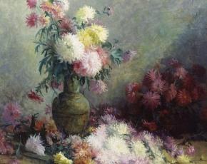 Artist Mary de Leftwich Dodge 1838-1928.