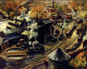 Artist Harry Gottlieb 1895-1993.