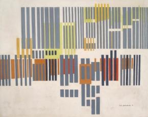 Artist John Sennhauser 1907-1978.