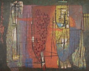 Artist Joseph Meert 1905-1990.