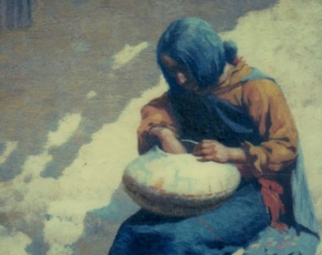 Artist William Leigh 1866-1955.
