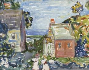 Artist Maurice Prendergast 1858-1924.