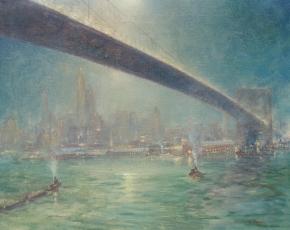 Artist Johann Berthelsen 1883-1972.