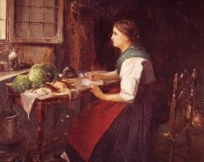 Artist Domenico Induno 1815-1878.
