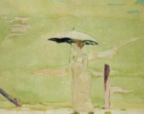 Artist Stuart Davis 1892-1964.