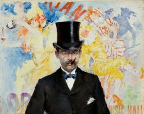 Artist Nicolas Escalier 1843-1920.