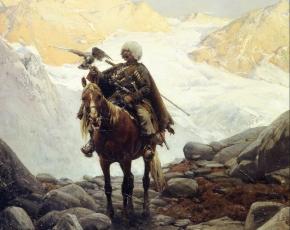 Artist Alfred Von Wierusz-Kowalski 1849-1915.