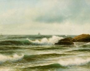 Artist George Howell Gay 1838-1931.