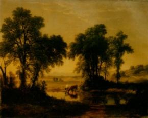 Artist Asher B. Durand 1796-1886.