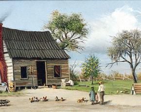 Artist William Aiken Walker 1839-1921.