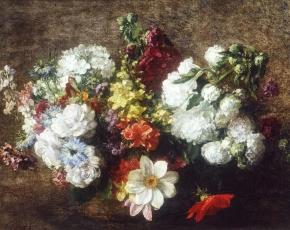 Artist Henri Fantin-Latour 1836-1904.