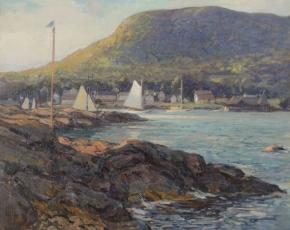 Artist Wilson Henry Irvine 1869-1936.