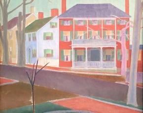 Artist Stefan Hirsch 1899-1964.