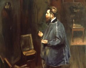 Artist James Montgomery Flagg 1877-1960.