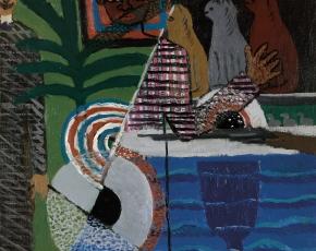 Artist Ben Benn 1884-1983.