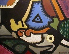 Artist Francis Scott Bradford 1889-1961.