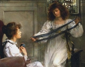 Artist Lady Alma-Tadema 1852-1909.