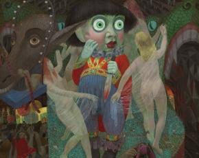 Artist Henry Koerner 1915-1991.