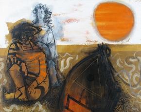 Artist Byron Browne 1907-1961.