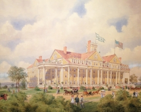 Browse and inquire about City and Townscape paintings for sale at Caldwell Gallery Hudson.