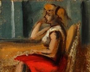 Artist Reginald Marsh 1898-1954.