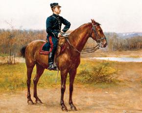Artist Etienne Prosper Berne-Bellcour 1838-1910.