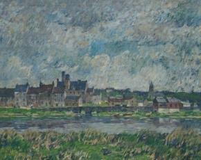Artist Robert Spencer 1879-1931.