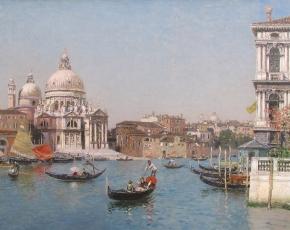 Artist Martin Rico Y Ortega 1833-1908.