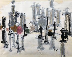 Artist Genichiro Inokuma 1902-1993.
